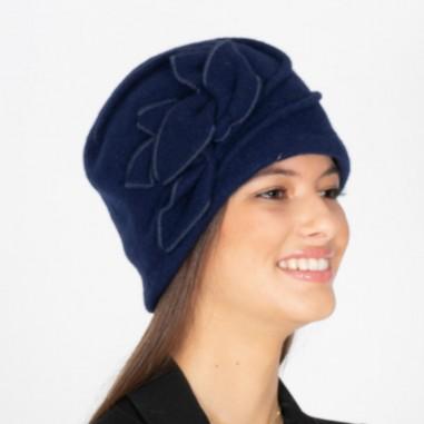 Wool Hat Sarah Navy