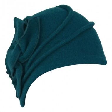 Wool Hat Sarah Turquoise