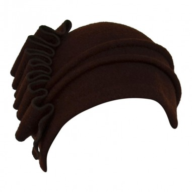 Brown Michaela Vintage Hats