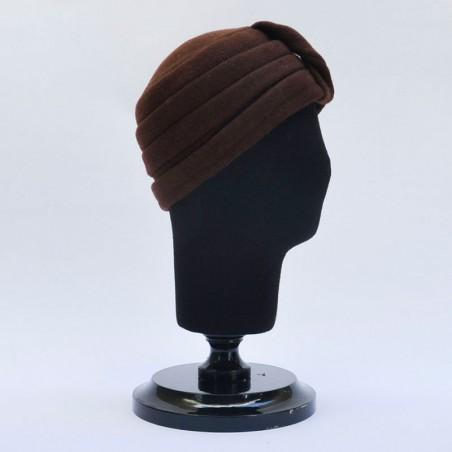 Turbante Audrey Marrón Chocolate