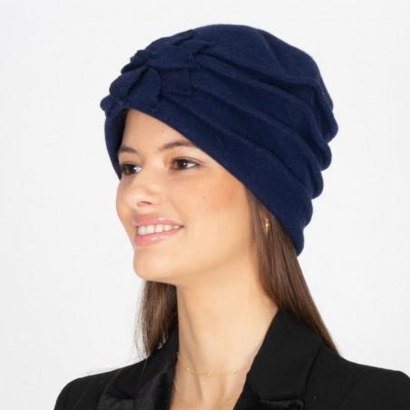 Turbante Giorgia Azul Marino