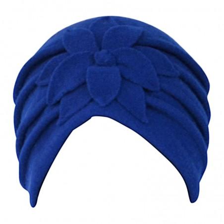 Turbante Giorgia Azul Eléctrico