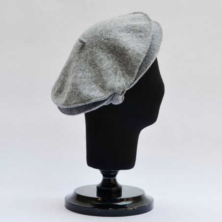 Helen Beret Grey Mix French Style for Women