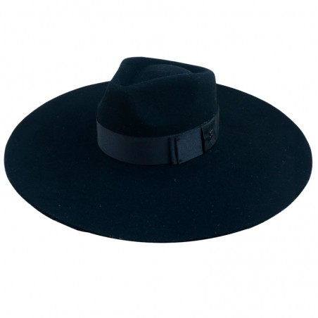 Colorado Wide Brim Felt Hat - Fedora Style - Felt Hat women's