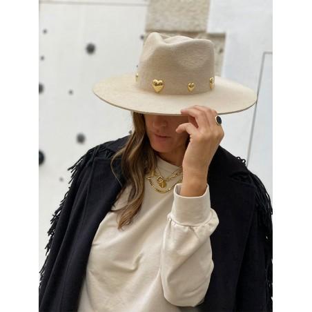 Sombrero Fedora Ala Ancha Gala - Edición Limitada