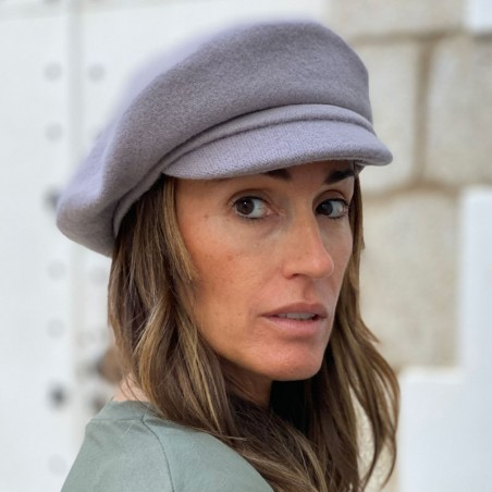 Vendome Beret Grey - French Style