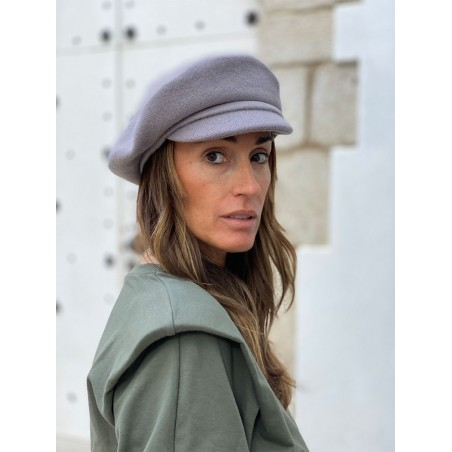 Boina Vendome Gris - Boina Mujer Estilo Francés