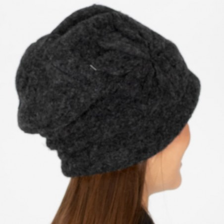 Wool Aiden Grey Hat  - Caps for Women - Wool Hat Womens