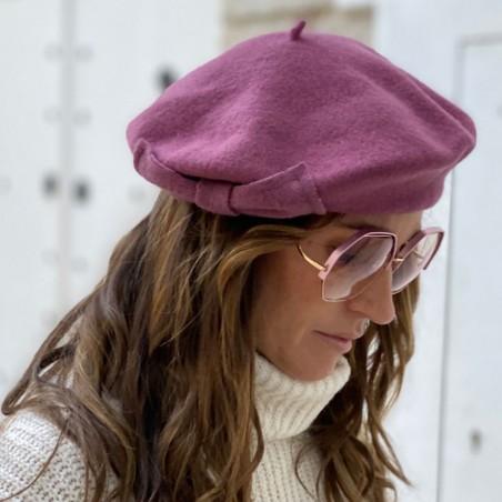 Boina Francesa Mujer color Rosa