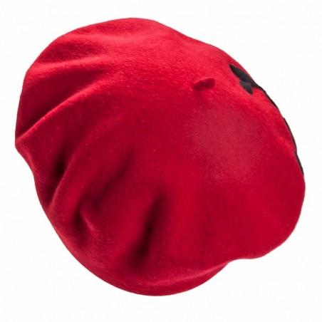 Boina Francesa Mujer Collen Rojo