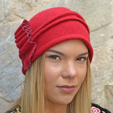 Red Michaela Vintage Hats