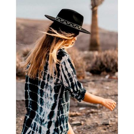 Sombrero Fedora 100% Fieltro de Lana - Sombreros Unisex