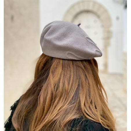Valerie Beret Light Grey Parisian Touch