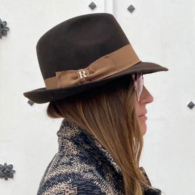 Sombrero Mujer Mission Marron Ala Corta