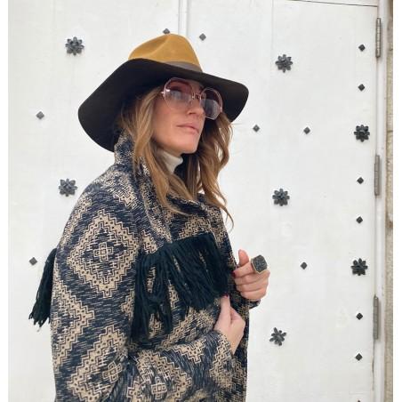 Queen Floppy Hat for Women Camel-Brown