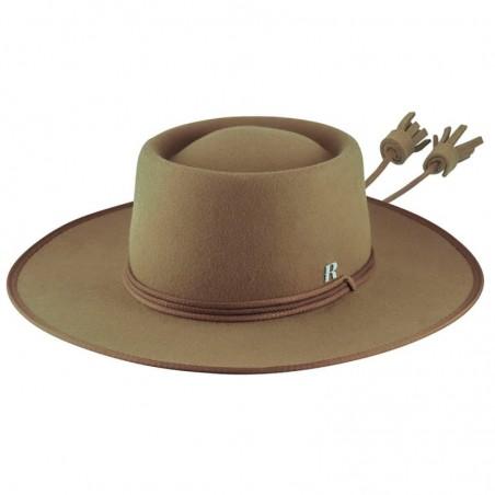 Sombrero de Novia Billy Camel Fieltro de Lana