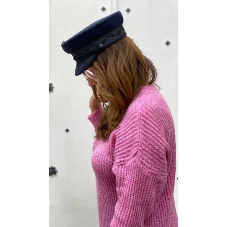 Gorra Marinera Mujer Clark Azul Marino