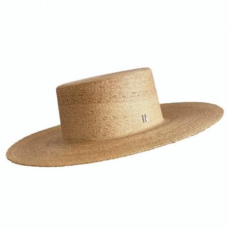 Sombrero Hombre Canotier Ala Ancha Puebla