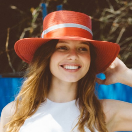 Acapulco Red Hat by Raceu Hats - Summer Hats for Women