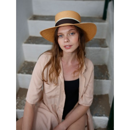 Acapulco Natural Hat by Raceu Hats - Summer Hats For Women