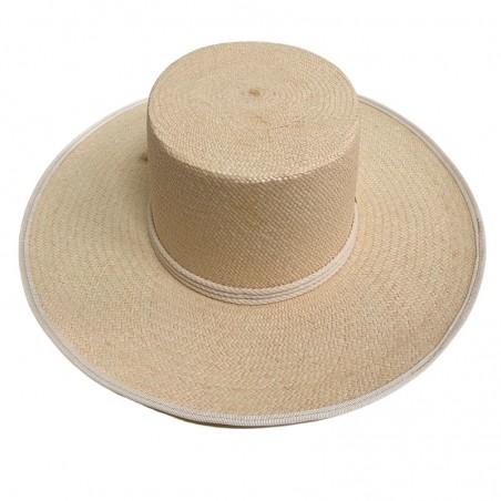 Sombrero Panamá Padua en color Natural - Sombreros Panamá Estilo Canotier
