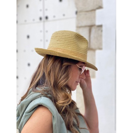 Natural Beach Hat for Women & Men - Summer Hats 100% Paper Straw Made in Spain