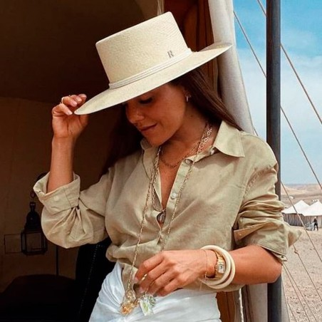 Panama Hat Padua in colour Natural - Panama Hats Boater Style