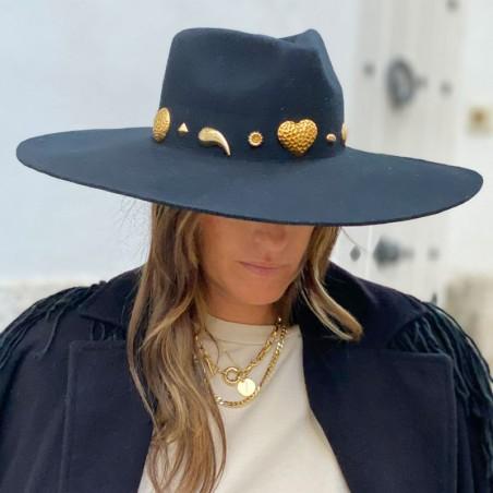 Sombrero de Novia Fedora Ala Ancha Chaser - Edición Limitada