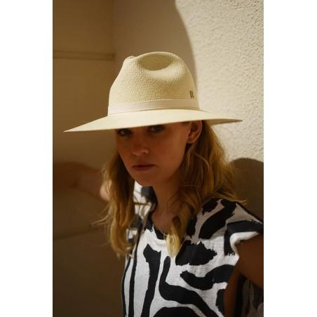 Sombrero Panamá Paros Beige - Sombreros Panamá Clásicos