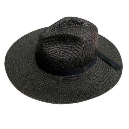 Sombrero Panamá Mujer Paros Negro