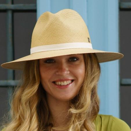 Panamá Hat Paros in colour Honey - Panama hat classic