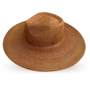 Sombrero de Novia Fedora Ala Ancha Amalfi