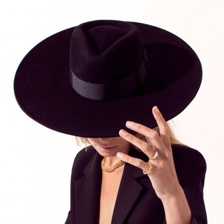 Colorado Wide Brim Felt Hat - Fedora Style - Felt Hat women's - Womens Winter Hats UK