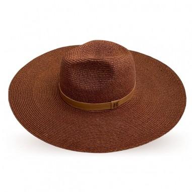 Kenia Fedora Hat Extra Wide Brim for Men - Coffee - Fedora Style