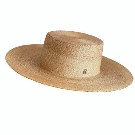 Sombrero Invitada Boda Canotier Ala Ancha Puebla - Especial Bodas