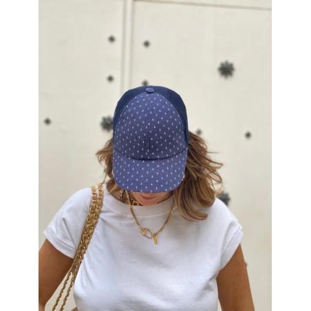 Gorra Béisbol Mujer Color Azul Raceu Hats