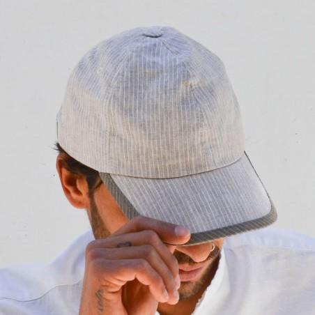 Gorra Béisbol Hombre color Crema - Allen - Raceu Hats