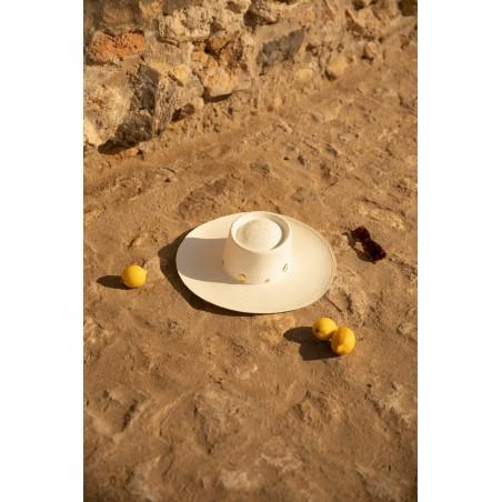 Sombrero Panamá Original hecho a mano en España en 100% paja de toquilla