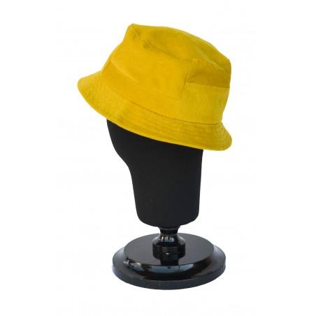 Sombrero de Copa Alta Carson color Oro - Sombrero Bucket 100% Algodón para hombre