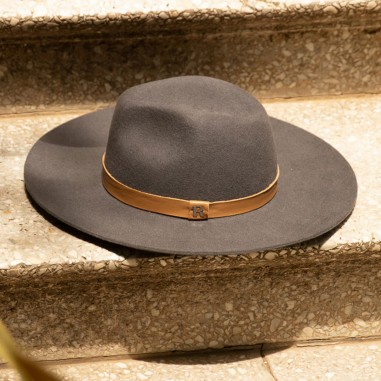 Sombrero de Fieltro Nevada Estilo Fedora - Raceu Hats Online