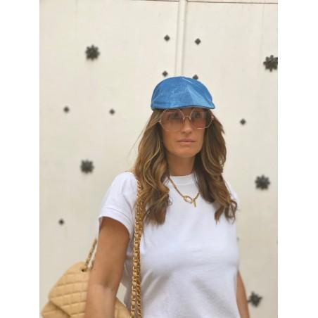 Gorra Visera Plana Mujer Color Jeans - Peaky Blinders - Raceu Hats