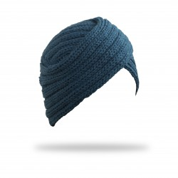 Turbante Riley Azul Marino