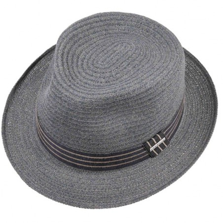 Straw Carson Fedora Hat by Stetson