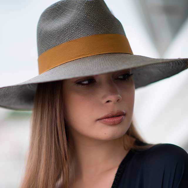 Sombrero Panamá Eva Ala Ancha