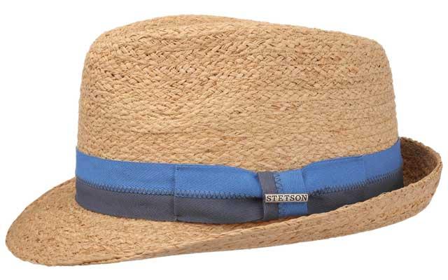 Rafia LavernTrilby Hat by Stetson