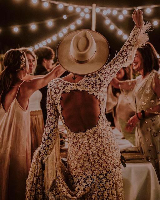 Nuba Beige Wool Felt Bridal Hat