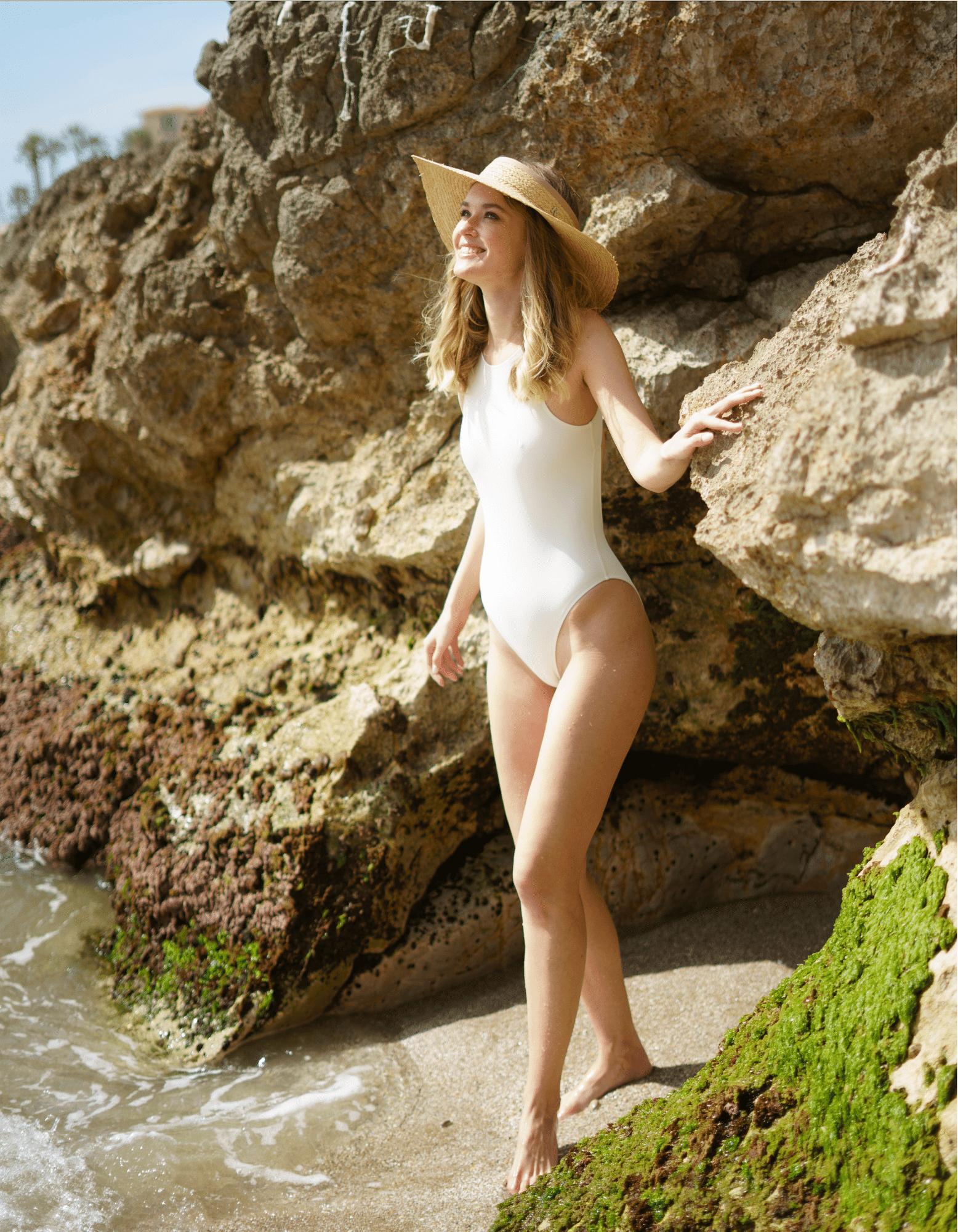 visera playa paja