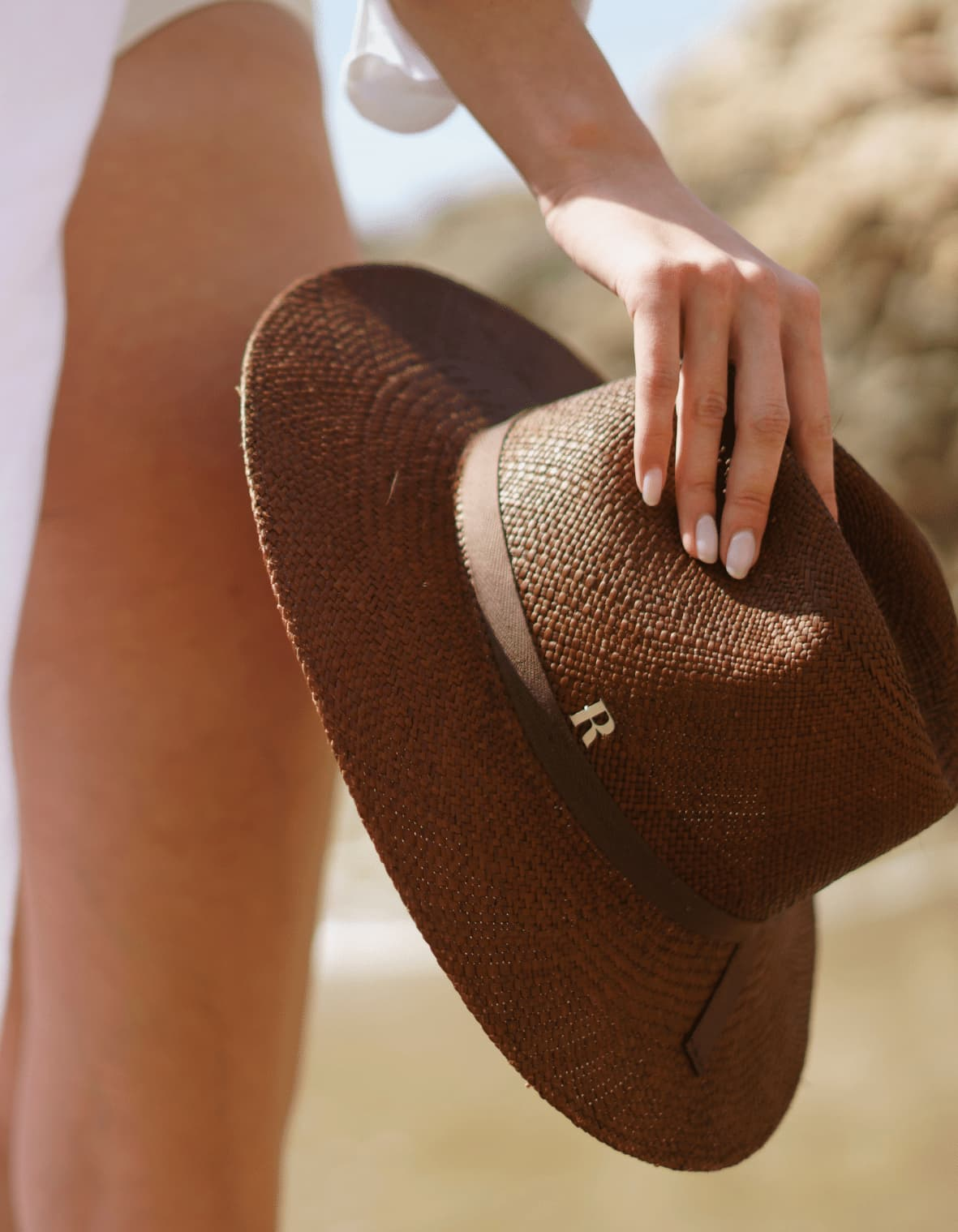 Paros Panama Fedora Hat for beach