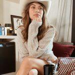 cowboy style felt hat