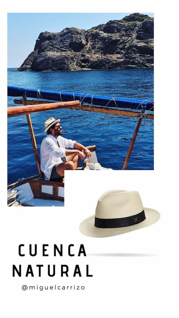 Sombrero Panamá Cuenca Natural